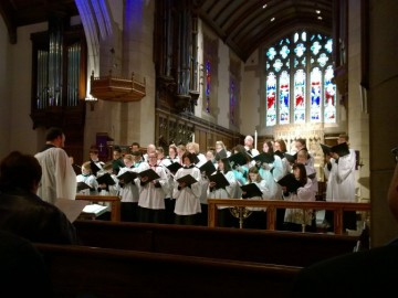 Choral Evensong: St. John's Youth and Adult Choirs