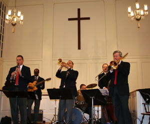 hot-cat-jazz-band-church-ceremony