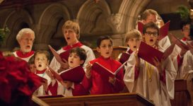 The Men and Boys Choir at Trinity New Haven